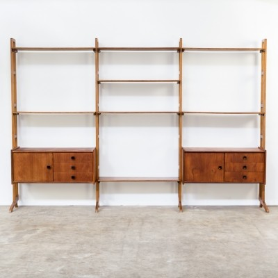 Wall unit from the sixties by unknown designer for Simpla Lux