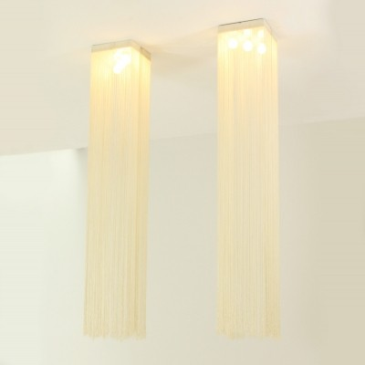Pair of Garbo Ceiling Lamps by Mariyo Yagi, 1970s