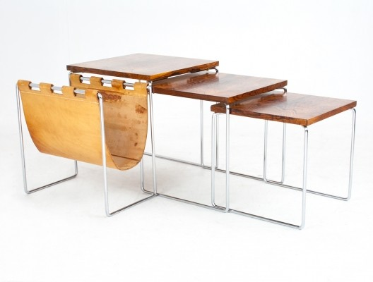Nesting table from the fifties by unknown designer for Brabantia