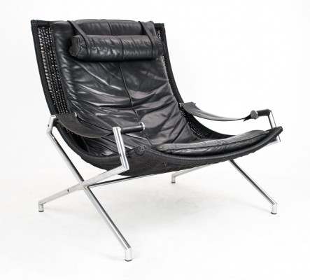 2 x lounge chair by Gerard van den Berg for Rohé Noordwolde, 1980s
