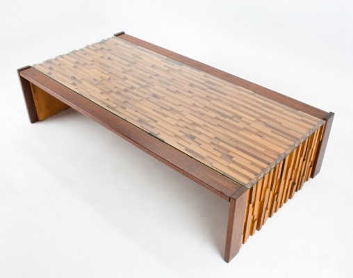 Jacaranda coffee table by Percival Lafer for Lafer, 1960s