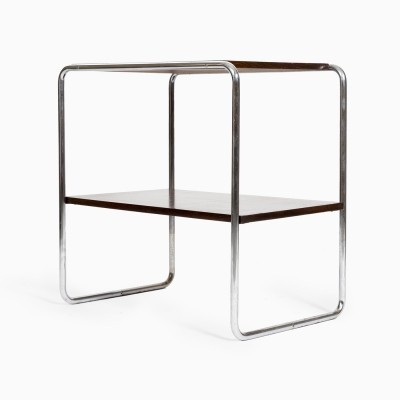 Side table from the eighties by unknown designer for unknown producer
