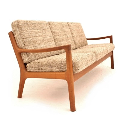 Danish teak 3 seater sofa by Ole Wanscher for France & Søn