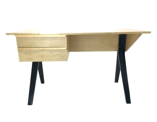 EB02 Birchwood Desk by Cees Braakman & Adriaan Dekker for Pastoe, 1952