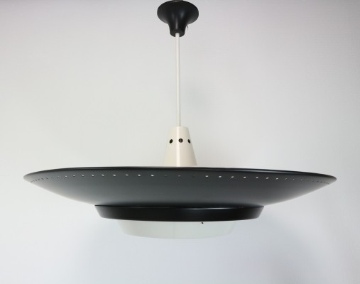 Large Pendant by Louis Kalff for Philips, 1950s