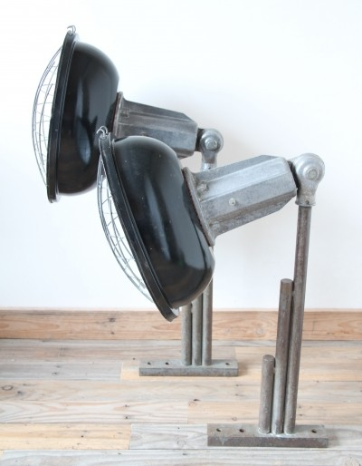 2 x vintage wall lamp, 1950s