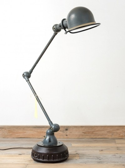 2 arms floor lamp from the fifties by Jean Louis Domecq for Jieldé