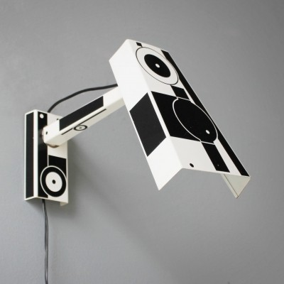 Rare Pop-Art wall light from the 1960s by Hala Zeist