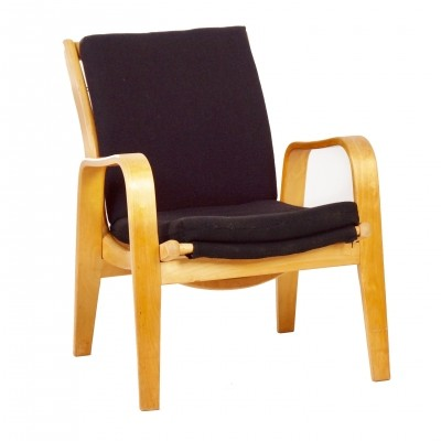 Black FB06 Easy Chair by Cees Braakman for Pastoe – 1950s