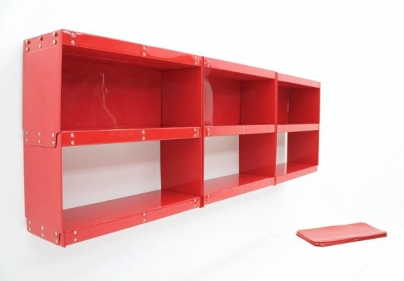 Softline Shelf wall unit from the sixties by Otto Zapf for Zapf Design