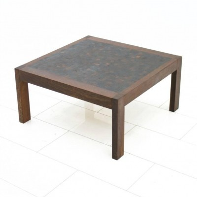 Dieter Waeckerlin Mosaik Coffee Table in Wenge, Switzerland 1960s