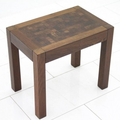 Dieter Waeckerlin Side or End Table in Wenge, Switzerland 1960s