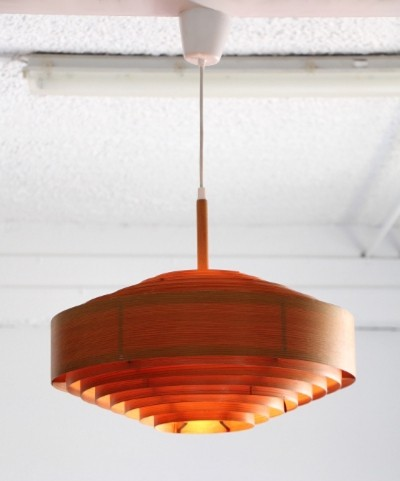 Large ceiling lamp T547/480 by Hans Agne Jakobsson for Ellysett Markaryd, 1960s