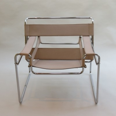 B3 arm chair from the sixties by Marcel Breuer for Gavina