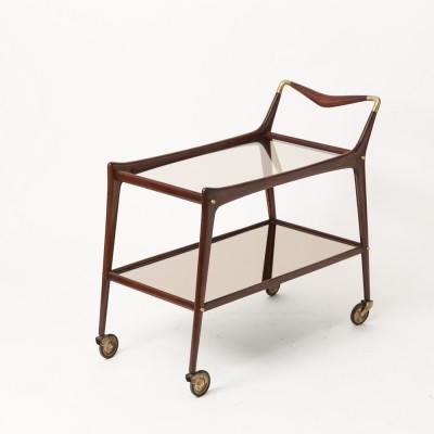 Serving trolley by Ico Parisi for De Baggis, 1950s