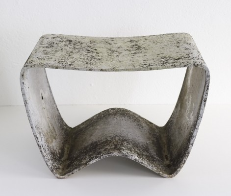 Rare stool G59/11 by Ludwig Walser, 1950s