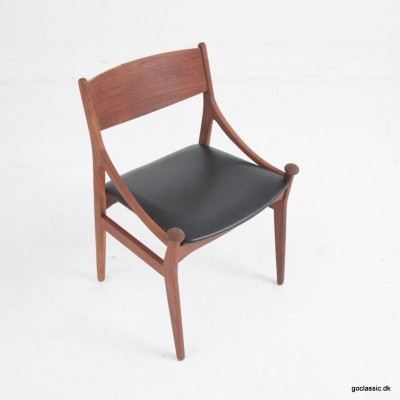 Model BT dinner chair by Vestervig Eriksen for Brdr. Tromborg, 1950s