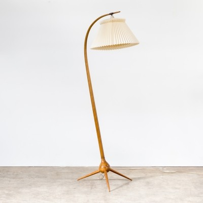 Bridge floor lamp by Severin Hansen Jr for Haslev, 1960s