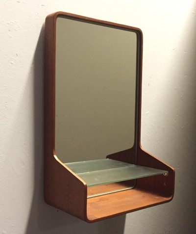 Euroika mirror by Friso Kramer for Auping, 1950s