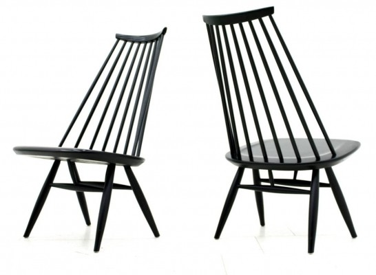 2 x Mademoiselle lounge chair by Ilmari Tapiovaara for Asko, 1950s