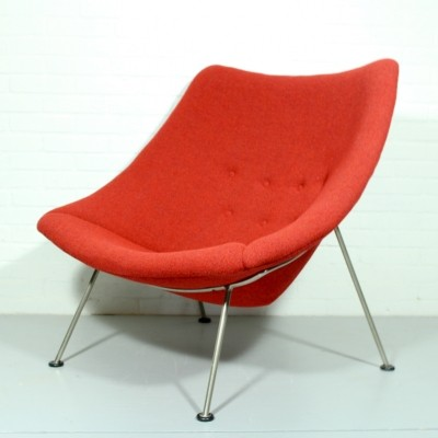 Oyster lounge chair by Pierre Paulin for Artifort, 1950s
