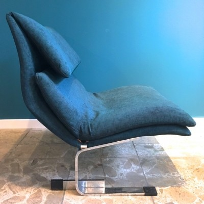 Onda lounge chair by Giovanni Offredi for Saporiti, 1970s