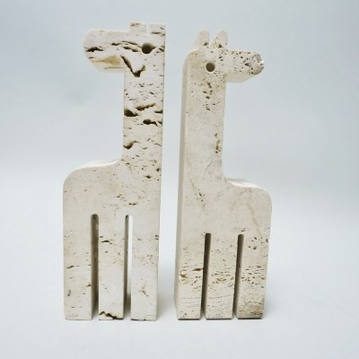 Giraffes Bookends by Fratelli Mannelli for Fratelli Manelli, 1970s