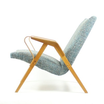 Set of 2 lounge chairs from the sixties by unknown designer for Tatra Nabytok NP