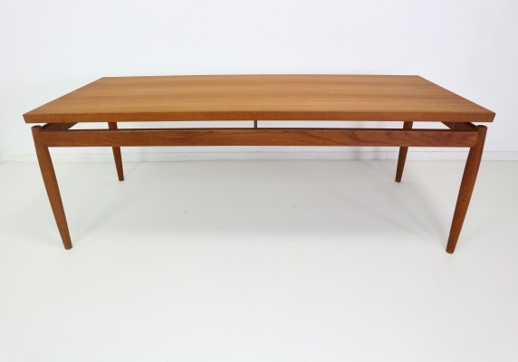 France & Son Coffee Table in Teak, Grete Jalk, 1960s