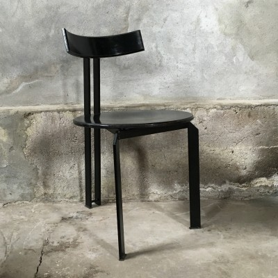 Harvink Zeta minimalist dining chair, 1980s