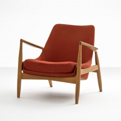 Ib Kofod-Larsen 'Seal' lounge chair, early version