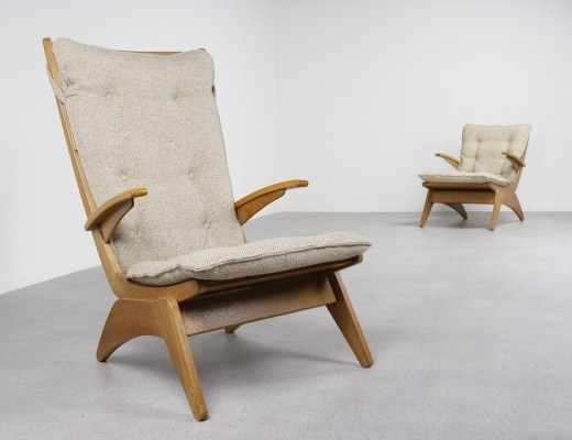 Pair of lounge chairs by Jan den Drijver for Gelderland, 1940s