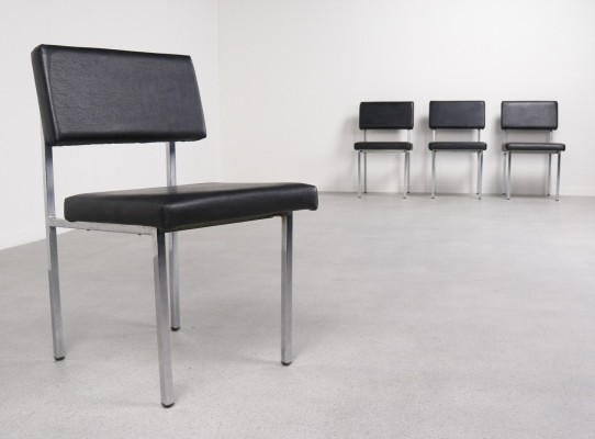 Set of 4 SE60 dinner chairs from the fifties by Martin Visser for Spectrum