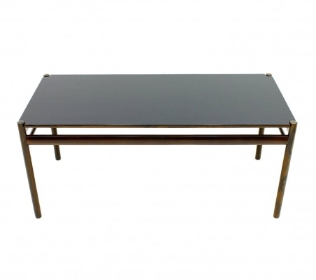 Ole Wanscher Colonial Coffee Table for Jeppesen Denmark, 1960s