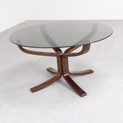 Coffee table from the seventies by Sigurd Ressell for Vatne Møbler