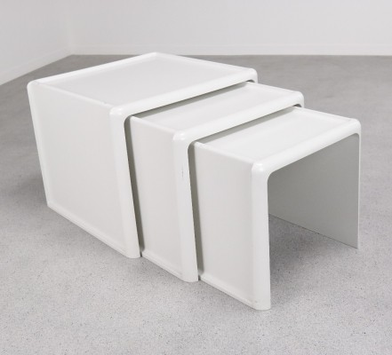 Nesting table by Peter Ghyczy for Horn Collection, 1970s