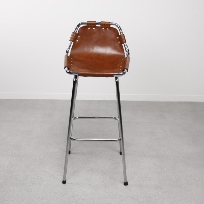 Set of 5 Les Arcs stools by Charlotte Perriand, 1960s