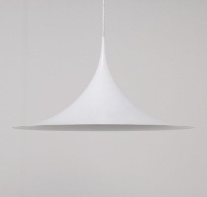 Semi hanging lamp from the sixties by Claus Bonderup & Torsten Thorup for Fog & Mørup