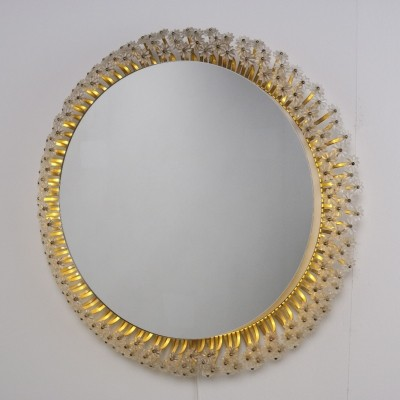 Large Emil Stejnar Illuminated mirror, 1950s