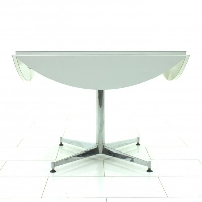 Square & round dining table, 1960s