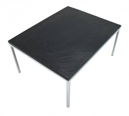 Slate top coffee table by Florence Knoll for Knoll International, 1960s