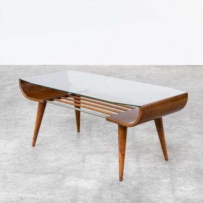 Coffee table from the sixties by Cor Alons for Gouda den Boer