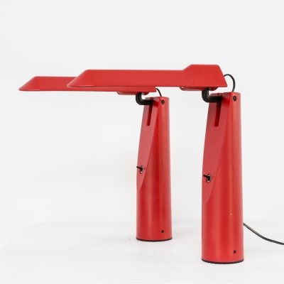 Pair of Picchio desk lamps by Isao Hosoe for Luxo, 1980s