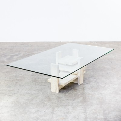 Coffee table by Willy Ballez for Willy Ballez Belgium, 1970s