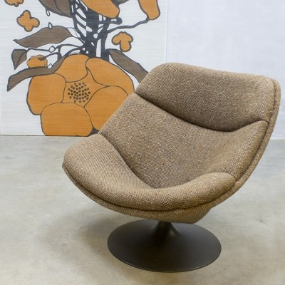 F557 lounge chair from the fifties by Pierre Paulin for Artifort