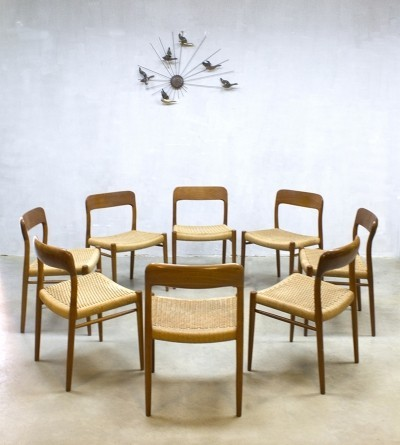 8 x dinner chair by Niels Otto Møller for JL Møller Møbelfabrik, 1960s