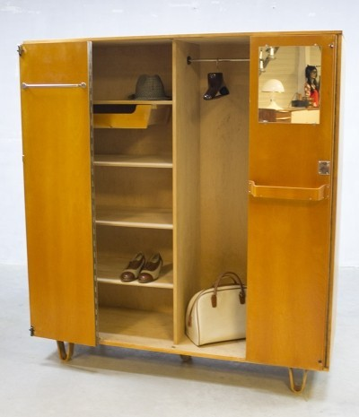Wardrobe cabinet by Cees Braakman for Pastoe, 1950s