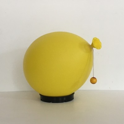 Yves Christin for Bilumen balloon lamp yellow, 1970's