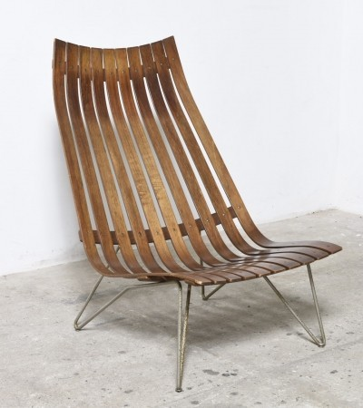 Scandia lounge chair by Hans Brattrud, 1957