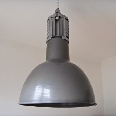 4 x Industrial XL hanging lamp, 1970s